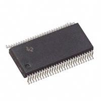 SN74LVT16952DL|TI|缓冲器,驱动器,接收器,收发器芯片|IC REGISTERED TRANSCVR 56SSOP